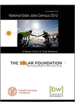 National Solar Jobs Census 2012