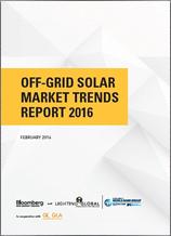 Off-Grid Solar Market Trends Report 2016