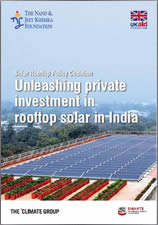 Unleashing private investment in rooftop solar in India