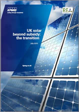 UK Solar Beyond Subsidy: The Transition