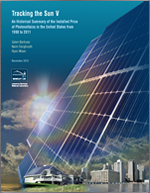 Tracking the Sun V. An Historical Summary of the Installed Price of Photovoltaics in the United States from 1998 to 2011