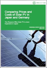 Comparing Prices and Costs of Solar PV in Japan and Germany