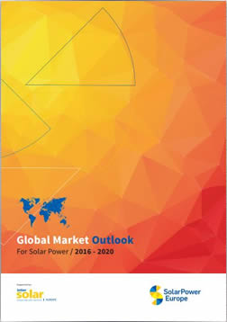 Global Market Outlook for Solar Power 2016-2020