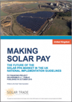 Making Solar Pay. The  future of the Solar PPA Market in the UK