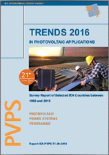 PVPS Report - Trends in Photovoltaic Applications 2016