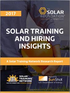 Solar Training and Hiring Insights 2017