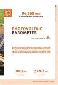Photovoltaic Barometer 2016
