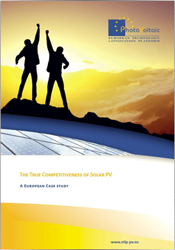 The True Competitiveness of Solar PV. A European Case Study