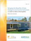 Bringing the Benefits of Solar Energy to Low-Income Consumers