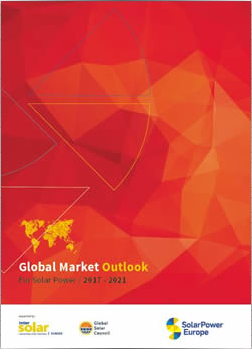 Global Market Outlook for Solar Power 2017-2021