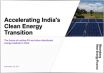 Accelerating India's Clean Energy Transition