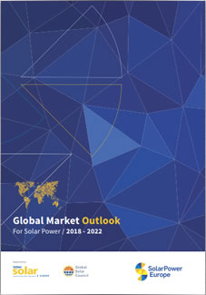 Global Market Outlook for Solar Power 2018-2022