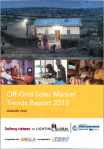 Off-Grid Solar Market Trends Report 2018