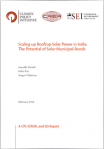 Scaling up Rooftop Solar Power in India: The Potential of Solar Municipal Bonds