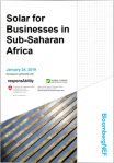 Solar for Businesses in Sub-Saharan Africa
