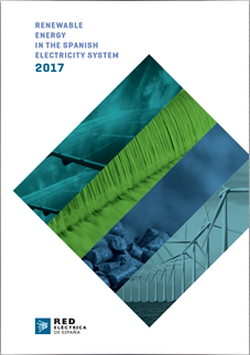 Renewable energy in the Spanish electricity system 2017