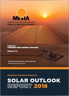 MESIA Solar Outlook Report 2018