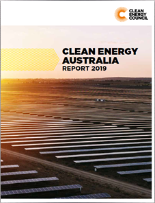 Clean Energy Australia Report 2019