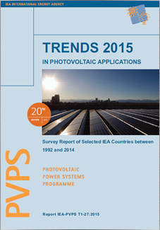 PVPS Report: Trends in Photovoltaic Applications 2015