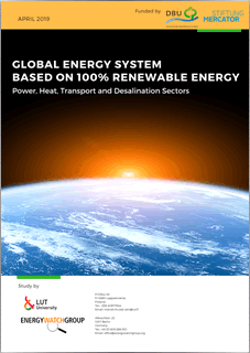 Global Energy System based on 100% Renewable Energy