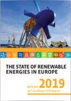 The state of renewable energies in Europe 2019