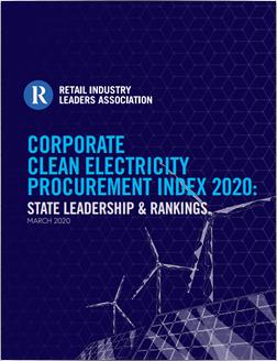 Corporate Clean Energy Procurement Index 2020
