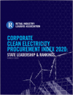 Corporate Clean Energy Procurement Index 2020