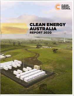 Clean Energy Australia Report 2020