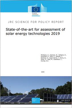 State-of-the-art for assessment of solar energy technologies 2019