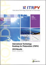 International Technology Roadmap for Photovoltaic. Results 2013
