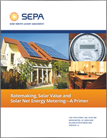 Ratemaking, Solar Value and Net Energy Metering - A Primer