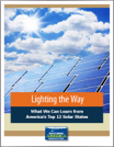 Lighting the Way. What We Can Learn from America's Top 12 Solar States
