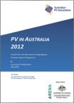 PV in Australia 2012