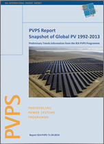 IEA PVPS Report: A Snapshot of Global PV - 1992-2013