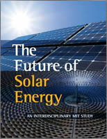 The Future of Solar Energy. An Interdisciplinary MIT Study