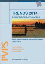 IEA PVPS Report: Trends in Photovoltaic Applications 2014