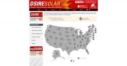 DSIRE Solar Map