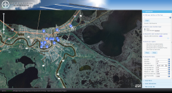 New Orleans Solar Calculator Map